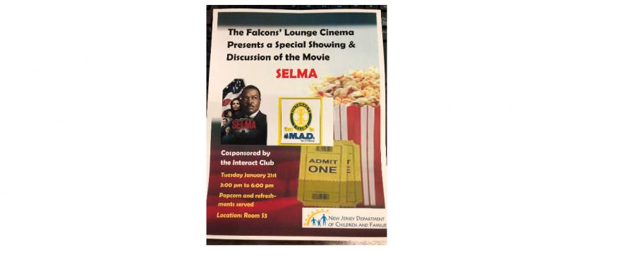 Falcons' Lounge Movie Day: Selma