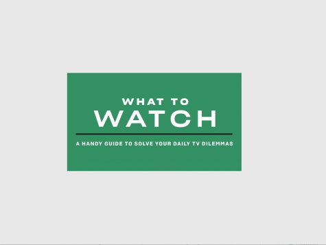 What To Watch Now On TV