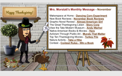 Mrs. Morstatt's Monthly Message – November