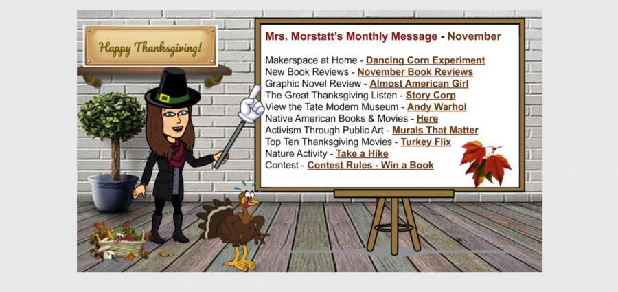 Mrs. Morstatt's Monthly Message - November