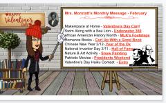 Ms. Morstatts Monthly Message: February