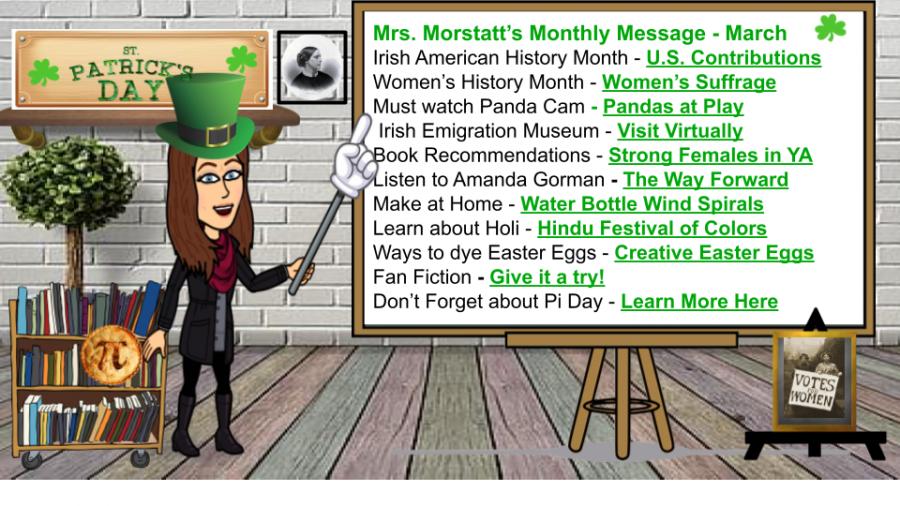 Ms.+Morstatt%27s+Monthly+Update