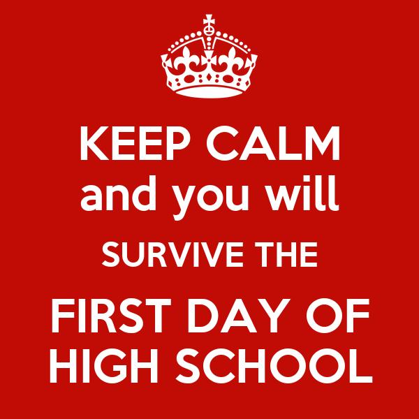 First Day, Freshman Year